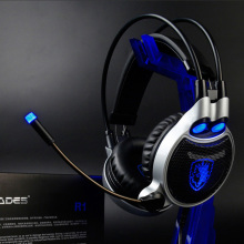 2016 Newest 7.1 Digital High Definition Stereo Surround Computer Headset SADES R1 Wired Gaming Headset Earphone with Micphone