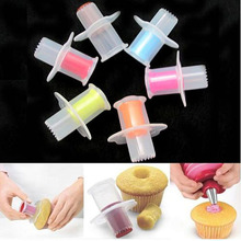 Bakeware Cupcake Core Remover Cake Cupcake Plunger Corer DIY Cake Decorating Tool Set Kitchen Baking Accessories
