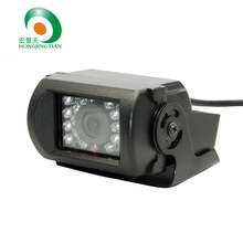 "1/3"" Sony Effio-e CCD 650tvl IR CCTV Car video camera vehicle camera for Bus Truck With Reversing line freeshippin"