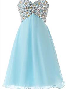 Tulle Dress Homecoming-Gown Short Graduation-Dresses Ever-Pretty Formal Crystal SD093