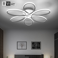 BWART Modern Ceiling Lights Remote Ceiling led lamp fixture for dining living room bedroom kitchen salon abajour luminaria luste(China)