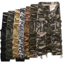 Plus size 40-28 2014 man Camouflage autumn spring military pants for men fashion army city tactical trousers