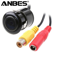 Anbes 18.5mm Waterproof Car Rear View Camera Car Rear Camera Reverse Backup CCD Colorful Display Camera NTSC/PAL with Hole Saw