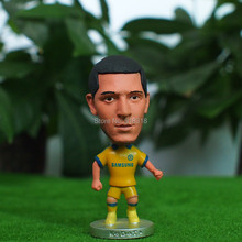 "Soccer 10# HAZARD (C-Yellow) 2.5"" Dolls Figure Football Player Figurine"