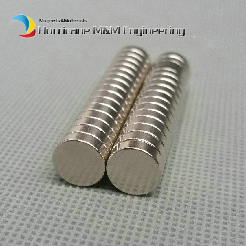 1 pack Dia. 10x3 mm Jewery magnet NdFeB Disc Magnet Neodymium Permanent Magnets Grade N35 NiCuNi Plated Axially Magnetized<br>