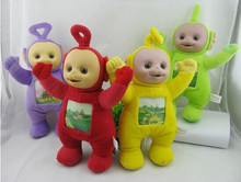 4Pcs/Set 33cm Teletubby Plush Toy Doll Teletubbies Laa Tinky Winky Plush toy Free Shipping