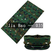Free Shipping Digital Printed Custom Seamless polyester multifunctional cheap camo  bandanas  Half Face unisex Mask