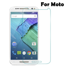 9H Anti-Explosion Tempered Glass for Motorola for Moto X X2 X3 E E2 E3 G G2 G3 G4 G4plus Xplay X Style Premium Screen Protector(China)