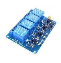 4 channel relay module Microcontroller development board relay expansion board support AVR/51/PIC channel relay module In stock(China)