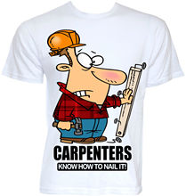 MENS FUNNY COOL NOVELTY CARPENTRY CARPENTER SLOGAN T-SHIRTS JOKE RUDE GIFTS IDEA Men Lastest 2017 New T Shirt Youth