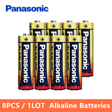 Panasonic Original 8pcs/lot 1.5V AA Toys Alkaline Battery Mercury-free Controller Remote Dry Batteries 5 Years Validity Cheap(China)