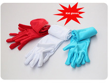 Kid child flower girl long glove  pink white light sky Turquoise blue red  free shipping wholesale