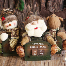 The New Toy Christmas Gift Series Christmas Calendar Desktop Doll Ornaments Christmas Decorations