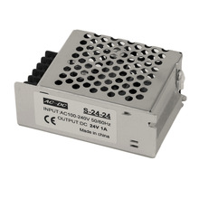 DC 24V 1A Universal Regulated Switching Power Supply for LED Strip Light New-style Switching Power Supply(China)