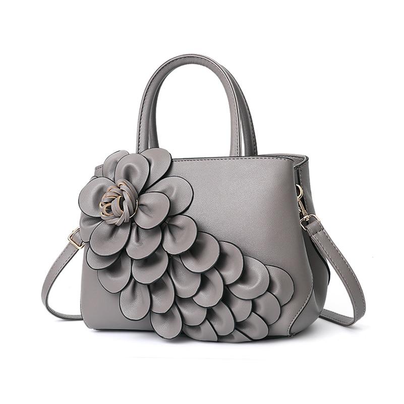 Nevenka Handbag Women Floral Handbags Small Shoulder Bags Leather Crossbody Bag for Women Handbags Purses and Handbags 201808