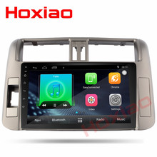 "9"" Car Android 7.1 radio for Toyota Prado 150 2010 2011 2012 2013 1024*600 Quad Core Multimedia 2 din car dvd player(China)"