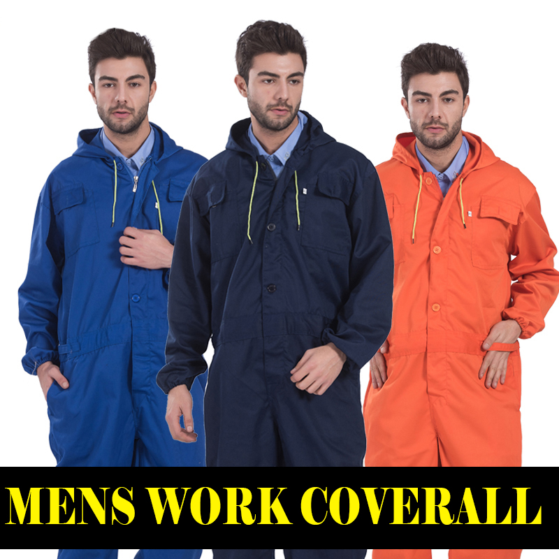 Repairman mechanic jumpsuits trousers working uniforms Workwear coveralls for  long sleevel coveralls FREE SHIPPING<br>