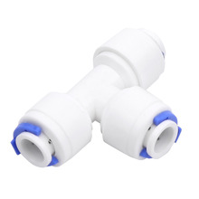 "Cheap Price Wholesale 5Pcs/Lot 1/4"" Push Fit Couplings Reducer Elbow Tee Wye Y-shape Pipe Fittings BSP for Water Aquarium"