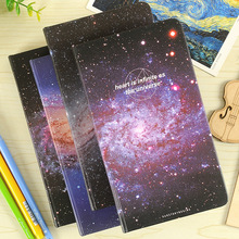 """Universe"" Pocket Slim Notebook Lined Papers Study Journal Travel Diary Hard Cover"