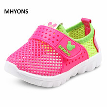 Buy MHYONS 2017 Summer Boys Air Mesh Casual Shoes Children Baby Girl Beach Sandal Fashion Toddler Sport Sandals Size 26-30 for $6.67 in AliExpress store