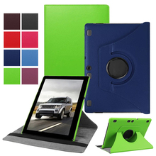 "360 Rotating Stand Leather Case Cover Shell For Lenovo Tab 3 10 Plus 2017 10.1"" inch Tablet PC"