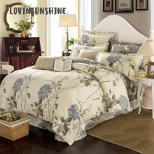 LOVINSUNSHINE Comforter Bedding Sets Queen King Duvet Cover Set Simple Style Flower Bedding AB#124(China)