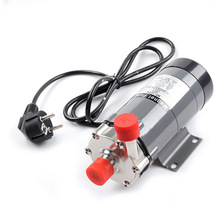 Hot! Magnetic Drive Pump 15R With Stainless Steel 304 Head,Beer Brewing Magnetic Pump with 220V Plug , CE Certification