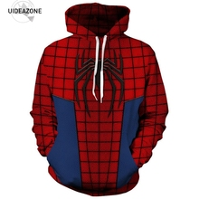 Spiderman Hoodie Hoodies Men Women Long Sleeve Autumn Winter Pullover Hoody Tops Sudadera Hombre Casual 3D Sweatshirts Men(China)