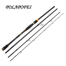 POLAPOFEI German technology Carbon Fishing Spinning Rod Casting Fishing Pole Fly Lure Carp Fish Bait Rod Olta Peche Tackle C250(China)