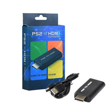 blue than New PS2 to HDMI with 3.5mm audio video Converter connector adapter for HDTV support 480i 576i 480p with HDMI cable