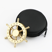 Buy Old Captain Finger Tri-spinner Gyro Brass stable Metal Hand Spinner Gyro Fidget Spinner pirate hand helicopter Finger spinner for $8.00 in AliExpress store