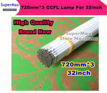 Brand New  20PCS/LOT  32inch TV LCD CCFL 720 mm * 3 mm, LCD Backlight Lamp Cold cathode fluorescent lamps    Free shipping