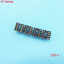 20pcs/lot DIP IC Socket 8P Adapter Holder Type 8Pin Plug in (If you need other quantity, please contact our custom servicer)