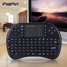 iPazzPort Arabic Mini Wireless Keyboard and Mouse Combo for AndroidTV Box, Raspberry Pi3, Intel compute Stick(China)