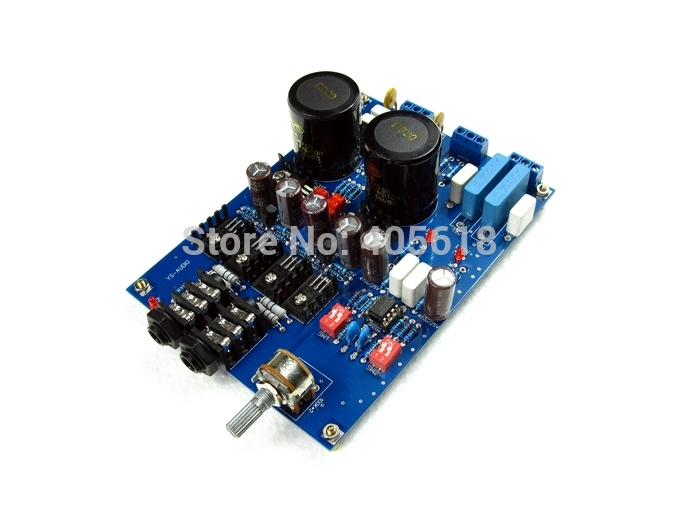 Lehmann kit BD139 BD140 Preamplifier headphone DIY Amplifier Pre amp diy kit Free shipping<br>