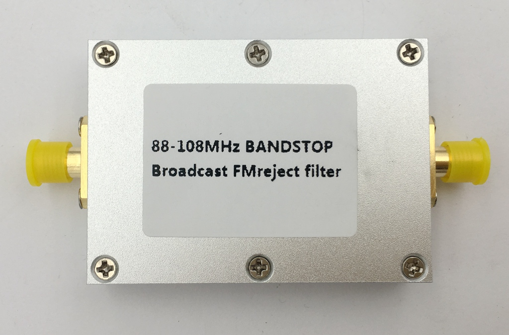 88-108MHZ band stop filter<br>