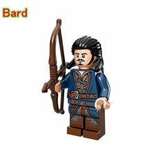 Bard The Bowman DIY blocks Single Sale The Hobbit Battle Of Five Armies Models & Building Toys Block For Children PG504