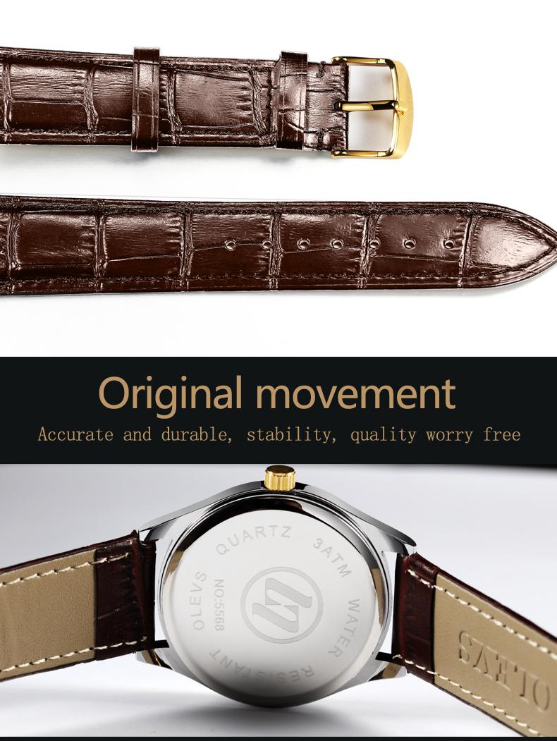HTB1DYtxX1sAV1JjSZFsq6ydZXXaB - OLEVS Luxury Men Gold Watches High Quality Watch Men's Quartz Date Clock Male Week Display Wristwatch Steel relogio masculino