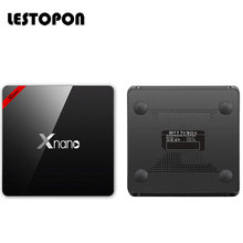 LESTOPON Smart X96 Pro Android 6.0 Tv Box 4K Amlogic S905X Qual Core 64 Bit 16GB Flash HDMI WIFI Tvbox Television Media Player
