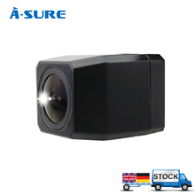 A-Sure 12V Super HD Night View Universal Reversed Camera MCCD 1000TV Lines Waterproof Shockproof Dustproof Backup Rear View Cam(Hong Kong)