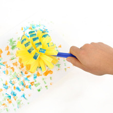 New Yellow Sponge Brush Seal Sponge Paint Brush Original Plastic Handle Children's Painting Graffiti Kids Baby Drawing Toys(China)