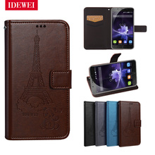 Retro Pattern pouch For coque Blackview P2 case wallet leather Back skin flip Capa For Blackview P2 lite P 2 Cover fundas bags(China)