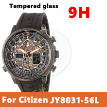 3pcs/lot Tempered Glass Screen Protector Guard Skin Film For Citizen JY8031-56L Watch Watch protective film