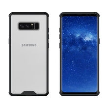 Hybrid Shockproof Cover Air Cushion Frame Case Crystal Clear Back Panel Protection Fundas Coque For Samsung Galaxy Note 8 Note8