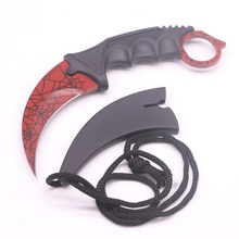 CS GO Counter Strike Hawkbill Tactical Claw  Knife Camping Hiking Real Combat Outdoor Self Defense Offensive for hot sale