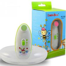 Baby nail clippers Baby Electric Nails Trimmer for Safe and Effective Baby electric manicure device Little Bees(China)