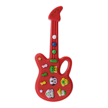 Guitar Toy Child Baby Kids Foxy Electronic Guitar Rhyme Developmental Plastic Music Sound Toy Kids Toy Musical Instrument