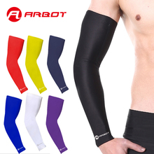 ARBOT Uv Arm Sleeves For Sun Protection Arm Cooling Sleeve Arm Warmers Anti-slip Skin Protection For Basketball/Biking/Cycling(China)