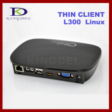 KINGDEL FL300W Mini PC Station PC Share Thin Client Dual Core 1GHz 512MB RAM Linux 2.6 USB2.0*3 1080P HDMI RDP 7.1 VGA WiFi