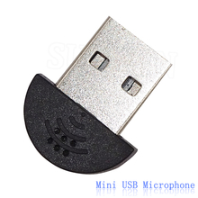 Newest Super Mini USB 2.0 Microphone MIC Audio Adapter Driver Free for MSN PC Notebook